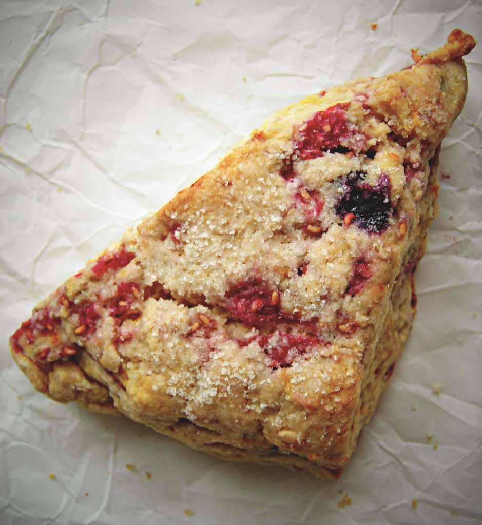 Mixed Berry Scone by Sarah John Afana | Epicurious Community Table